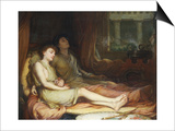 Sleep and His Half Brother Death Prints by John William Waterhouse