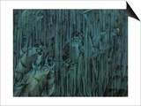 Stage of Mind: Those Who Stay Print by Umberto Boccioni