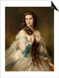Mme Barbe de Rimsky-Korsakow Prints by Franz Xaver Winterhalter