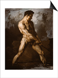 Study of a Male Nude, 1817/20 Posters by Théodore Géricault
