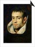 Portrait of a Monk (Dominican or Trinitarian) Prints by  El Greco