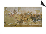 Battle Between Alexander the Great and King Dareios (Battle of Issos) Art