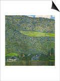 Unterach on Lake Attersee, Austria, 1915 Posters by Gustav Klimt