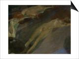 Bewegtes Wasser (Moving Water) Posters by Gustav Klimt