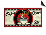 Cup 'a Joe Diner Prints by Kate Ward Thacker