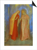 The Visitation Prints by Odilon Redon