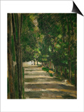 The Avenue (Park of Chantilly), circa 1879 Prints by Paul Cézanne