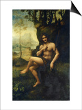 Bacchus Prints by  Leonardo da Vinci
