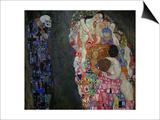 Life and Death (Tod Und Leben) Posters by Gustav Klimt