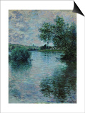 The Seine Near Vetheuil, 1879 Poster by Claude Monet