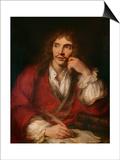 Molière à sa table de travail Posters by Antoine Coypel