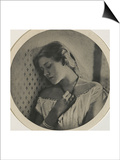 Ellen Terry, at the age of sixteen Prints by Julia Margaret Cameron