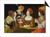 The Cheat Print by Georges de La Tour