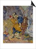 The Good Samaritan (After Delacroix), 1890 Posters by Vincent van Gogh