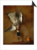Duck, Hung on a Wall, and a Seville Orange Prints by Jean-Baptiste Simeon Chardin