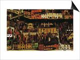 The Small City III, 1913 Art by Egon Schiele