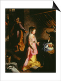 Nativity Prints by Federico Barocci