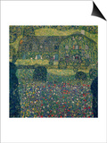 Country House on Attersee Lake, Upper Austria, 1914 Posters by Gustav Klimt