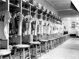 The Locker Room of the Brooklyn Dodgers Art