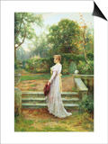 In the Garden Posters by Ernest Walbourn