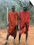 Maasai Warriors Posters