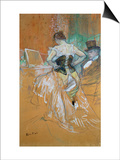 Woman in a Corset Prints by Henri de Toulouse-Lautrec