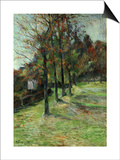 Road in Rouen, II, 1885 Posters by Paul Gauguin