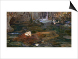The Head of Orpheus Prints by John William Waterhouse