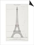 La Tour Eiffel de 300 mètres, projet coté Art