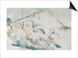 Mount Sainte-Victoire Posters by Paul Cézanne