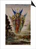 Les Voix du soir Prints by Gustave Moreau