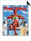 Pool Safety Posters by Kate Ward Thacker