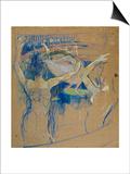 Ballet De Papa Chrysantheme, 1892 Posters by Henri de Toulouse-Lautrec