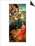 Altarpiece of St. John the Baptist and St. John the Evangelist Prints by Hans Memling