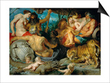 The Four Continents, Around 1615 Posters by Peter Paul Rubens