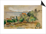 The Bay of L'Estaque, 1878-1882 Posters by Paul Cézanne