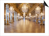 The Hall of Mirrors (State after Restoration in 2007) Print