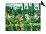 The Chateau at Medan, 1879-1881 Prints by Paul Cézanne