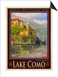 Lake Como Italy 2 Prints by Anna Siena
