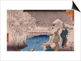 Ochanomizu Prints by Ando Hiroshige