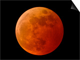 A Total Lunar Eclipse Posters