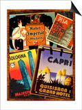 Capri Prints by Kate Ward Thacker