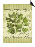 Parsley Poster by Kate Ward Thacker