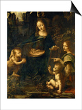 The Madonna of the Rocks Posters by  Leonardo da Vinci