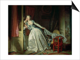 The Stolen Kiss Posters by Jean-Honoré Fragonard