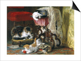 Mischief Makers Prints by Henriette Ronner Knip