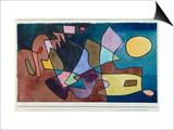 Dramatic Landscape, 1928 Prints by Paul Klee