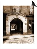 3 Rue des Lions, Hotel des Parlementaires Poster by Eugène Atget