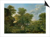 Spring, or Paradise on Earth, 1660-64 Prints by Nicolas Poussin
