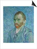 Self-Portrait, c.1889 Prints by Vincent van Gogh